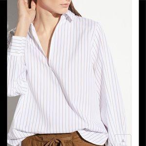 Vince Women's Bar Stripe  Blouse